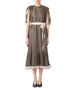 CUPRA GATHER DRESS