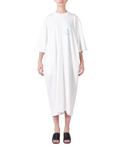 WAVE LONG TEE DRESS