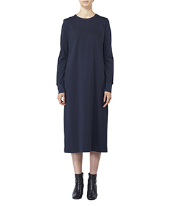 SUVIN PIMA JERSEY NUMBER T-DRESS
