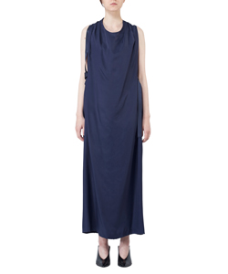 LONG DRESS WITH DRAPE