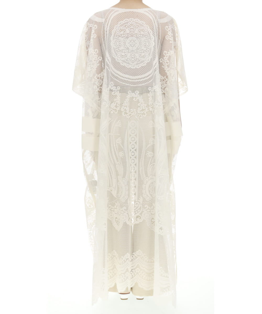 CURTAIN LACE DRESS