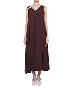 MILENA ASYMMETRY STRAP DRESS BR