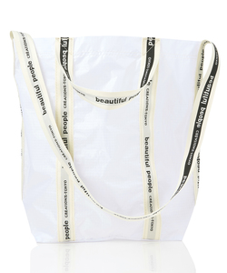 SAIL CLOTH LOGO TAPE SHOULDER BAG