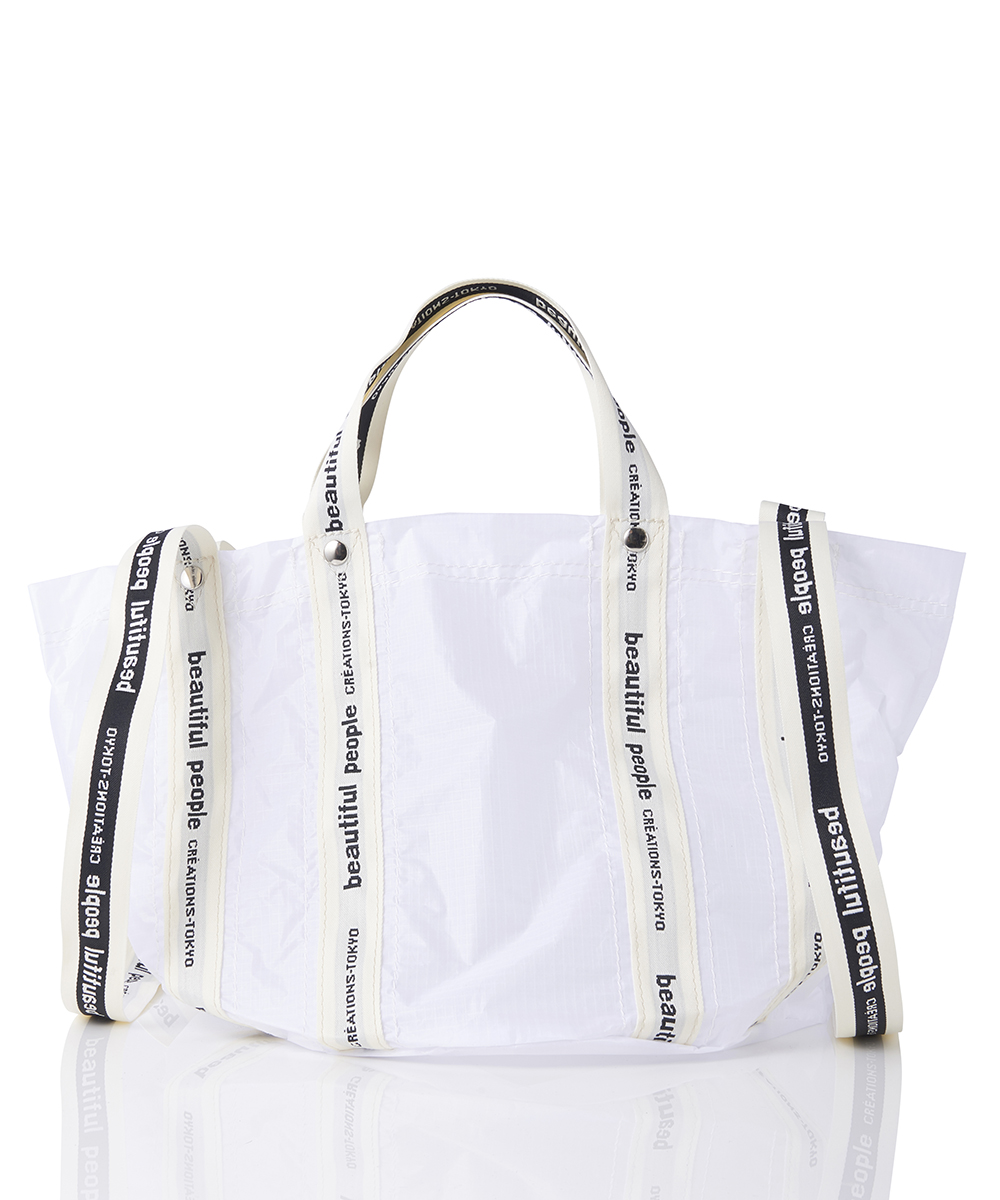 SAIL CLOTH LOGOTAPE SHIFT BAG S