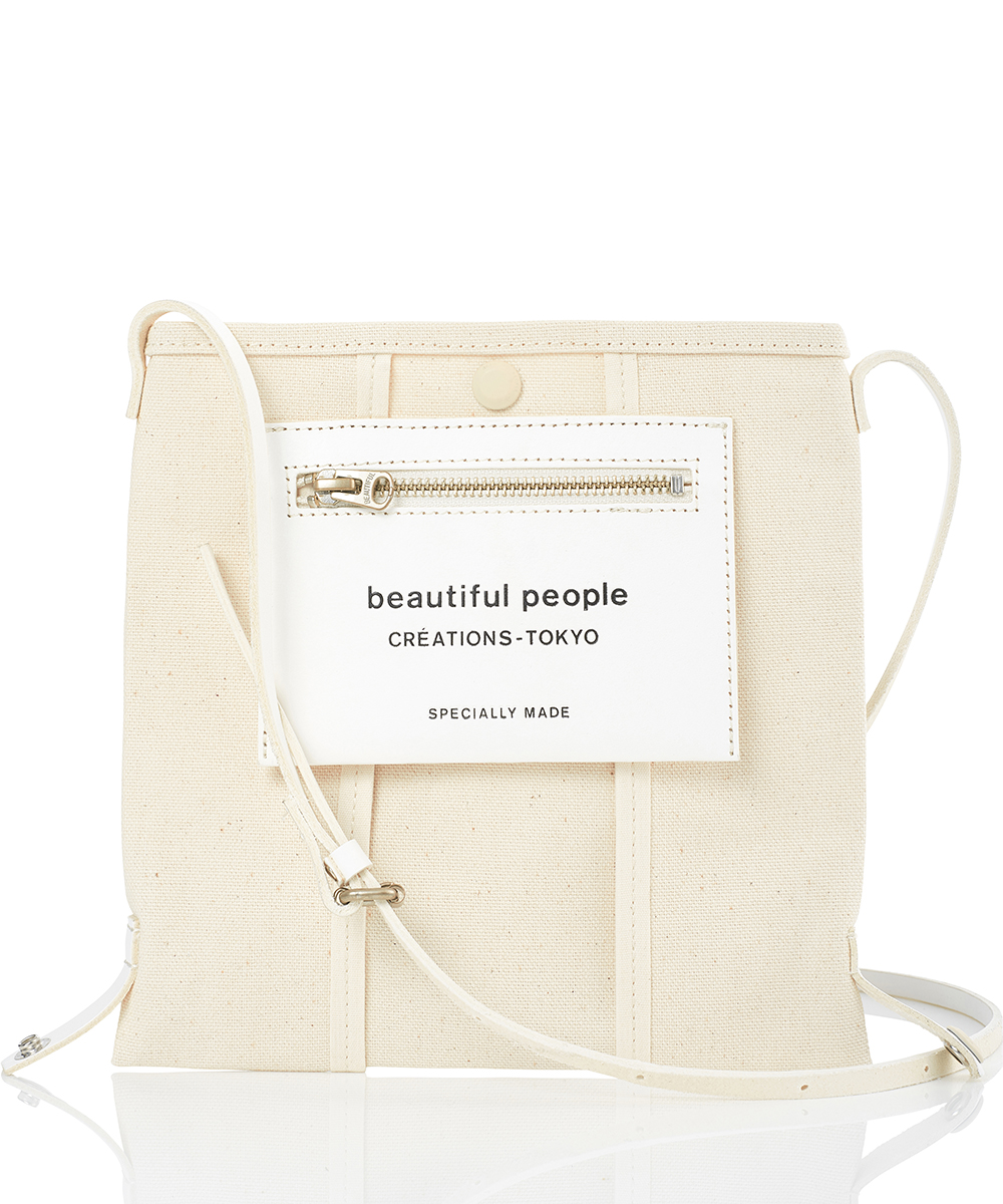 LINING LOGO POCKET MINI SHOULDER BAG
