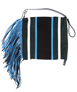 FRINGE SHOULDER BAG STRIPE