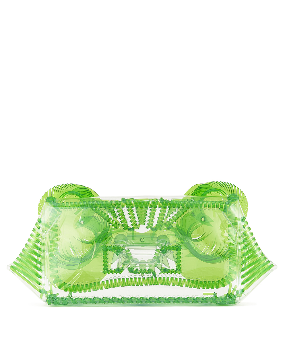 VINYL CHLORIDE CLUTCH BAG