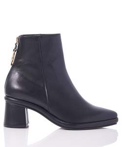 RING SLIM BOOTS-LEATHER