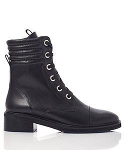 SELLERIA LACE UP BOOTS