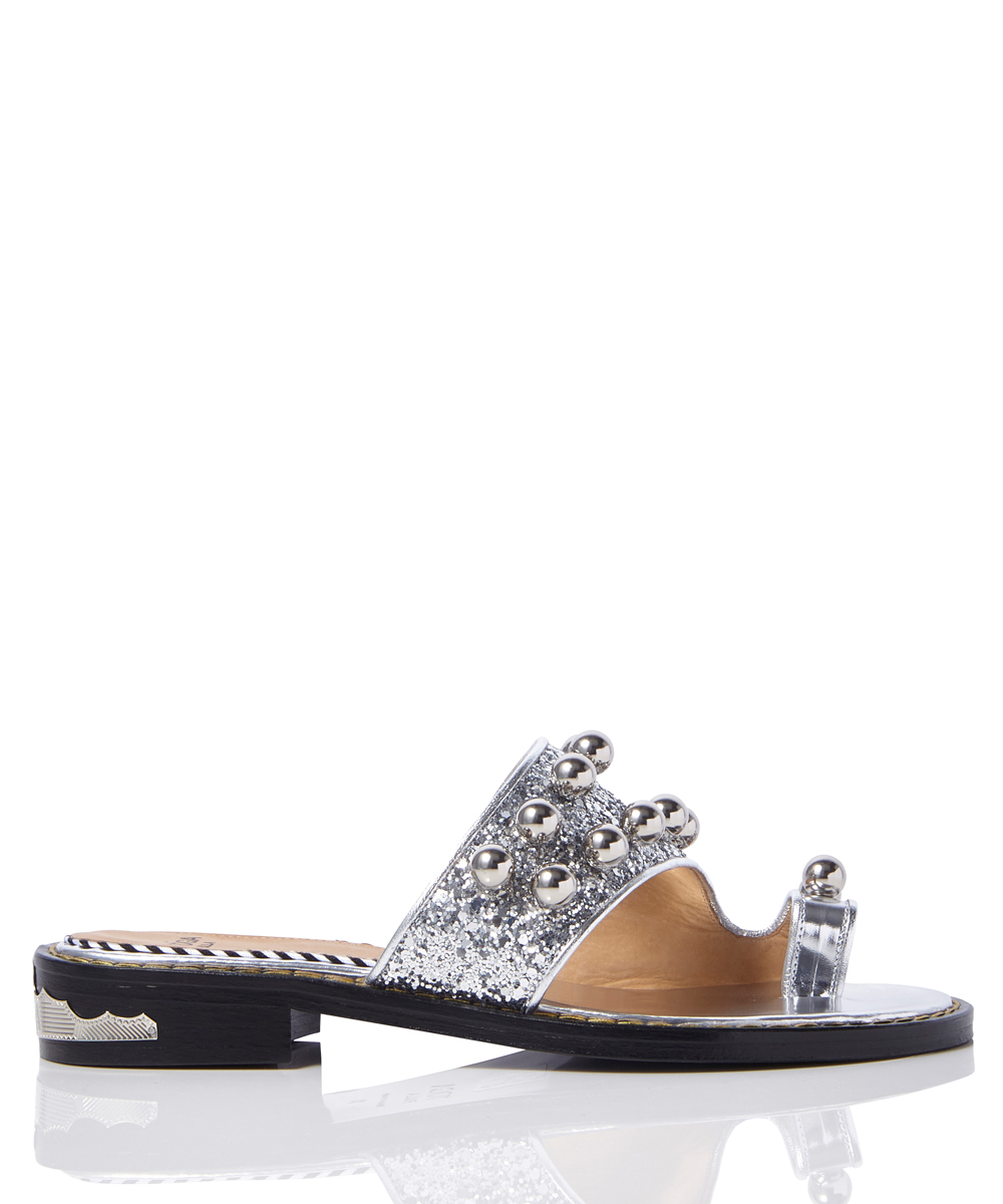 GLITTER THONGS SANDAL
