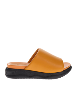 SYNTHETIC LEATHER SANDALS
