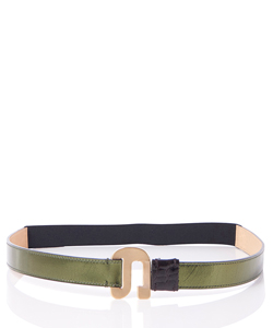 HOOK LEATHER BELT