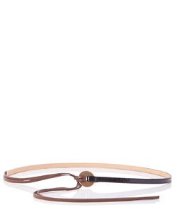 STRING LEATHER BELT