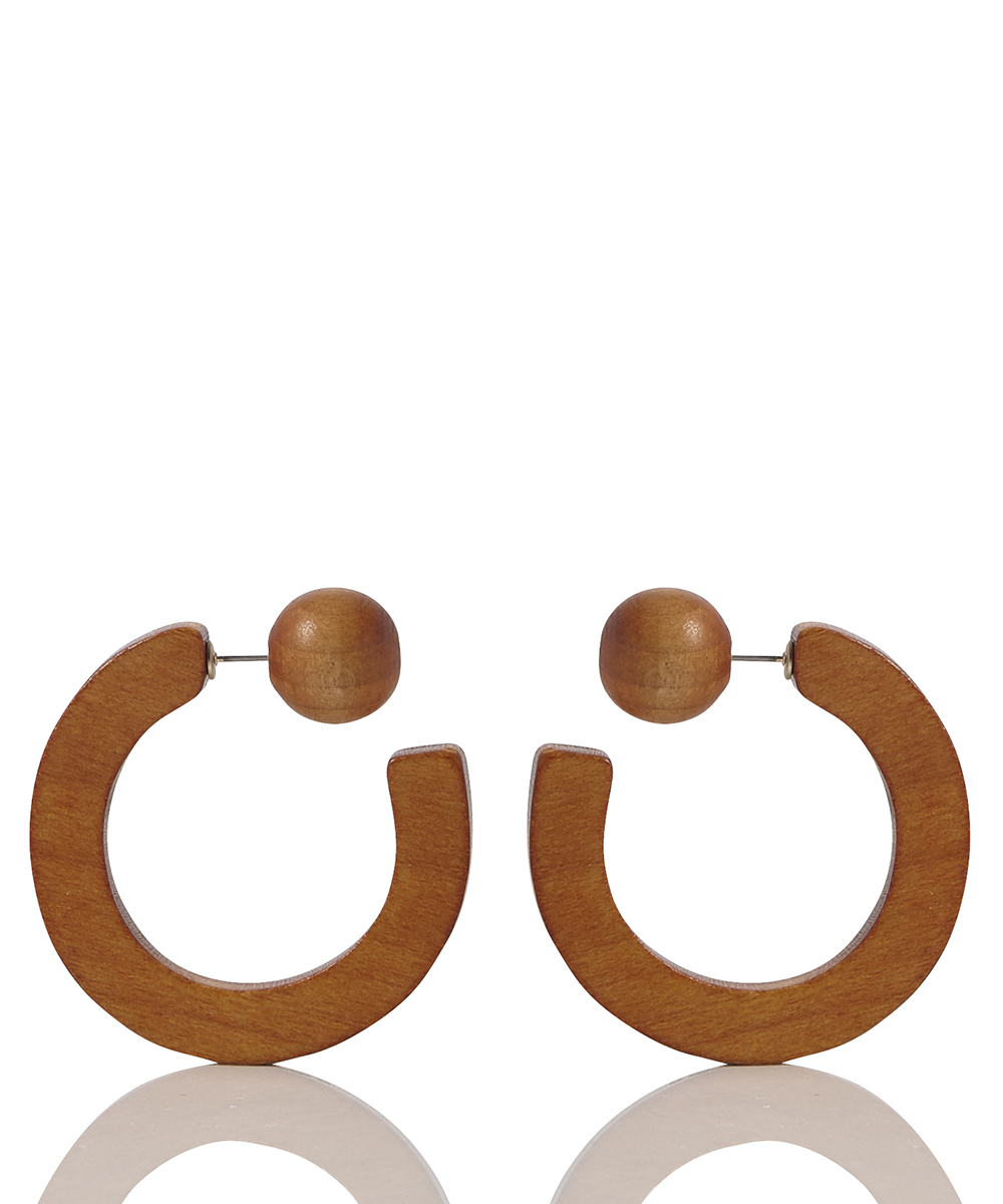 WOOD HOOP PIERCE