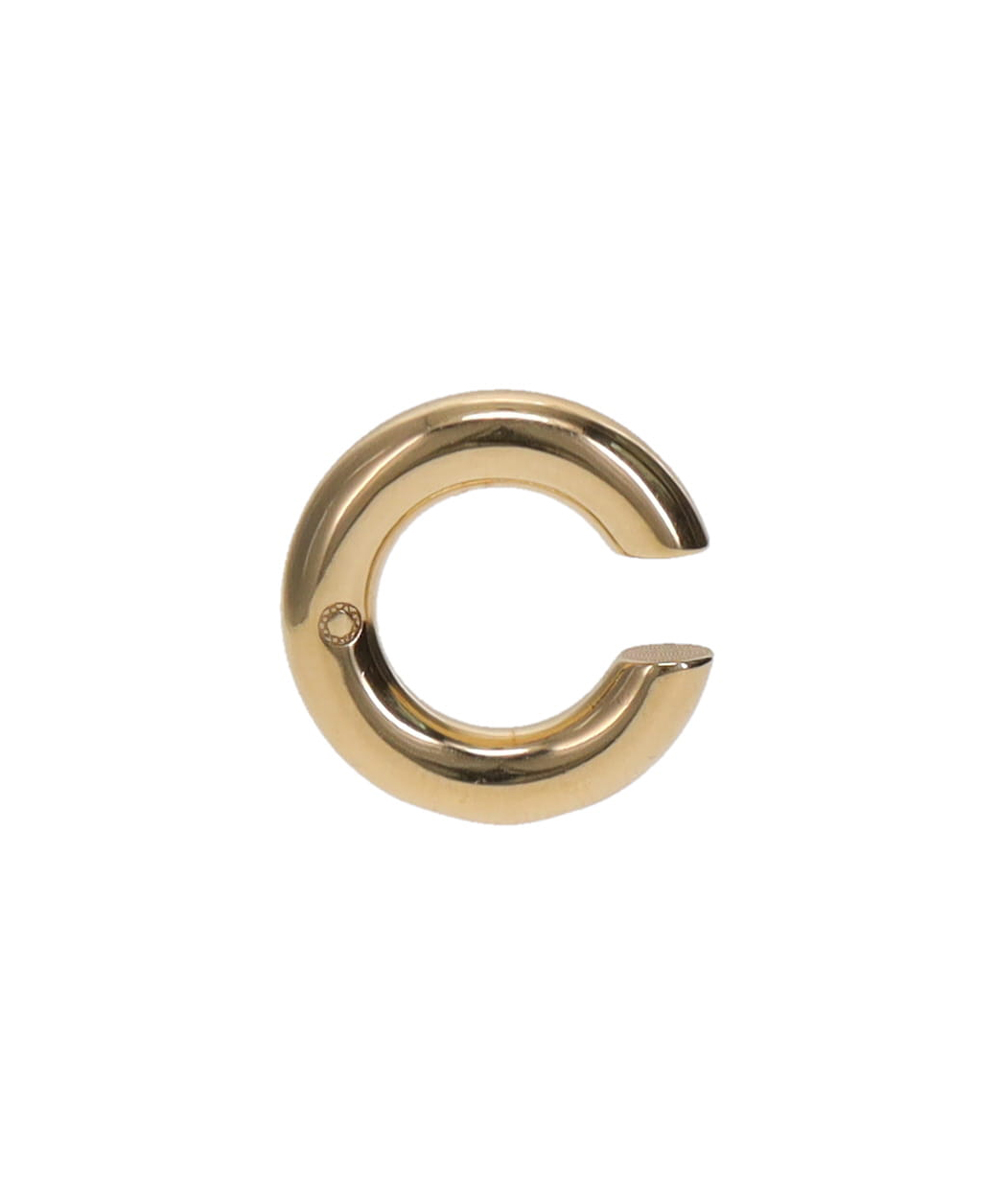 BOLD EARCUFF NO.2 BRASS GOLD-PLATED