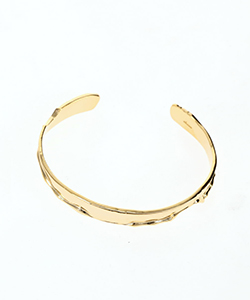 MOON SURFACE SLIM BANGLE