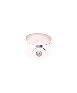 RHODIUM PLATED RING
