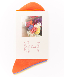 3 PAIRS OF COLORS FLOWER STALL