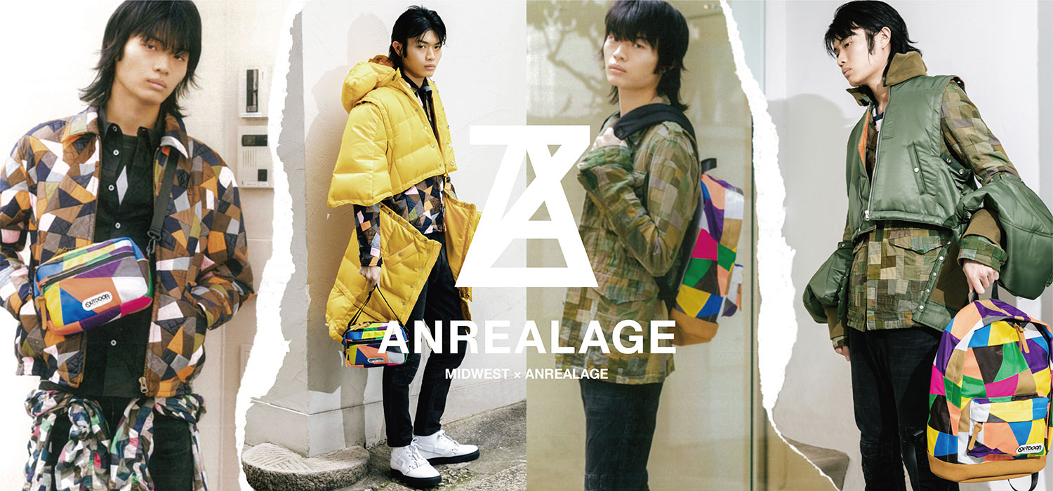 ANREALAGE×OUTDOOR 2020AW