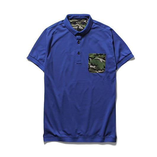 Ventilation polo shirt