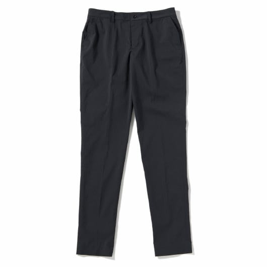 Seersucker packable slacks