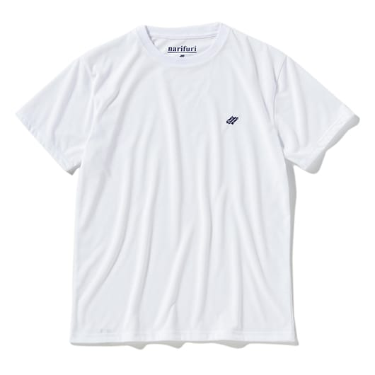 Pedal embroidery dry T-shirt