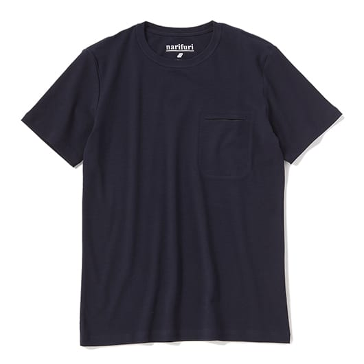 Technorama crew neck pocket T(BLACK CAMO)