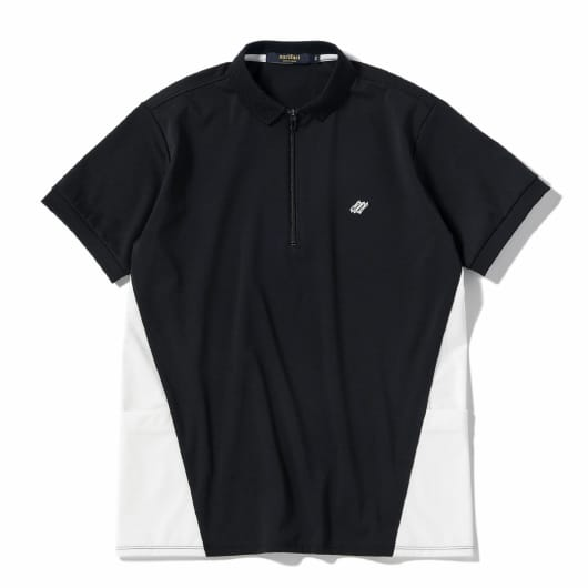 Side mesh cycle polo shirt