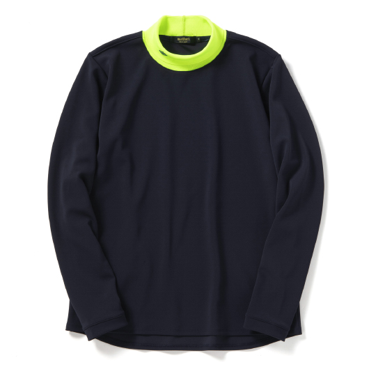 Turtleneck cycle pullover