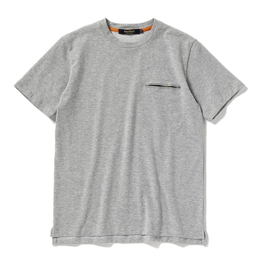 Multitech mesh reflector pocket T-shirt