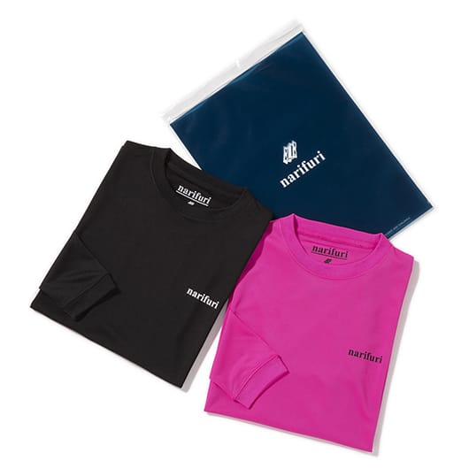 UV cut dry long T-shirt (2pcs)