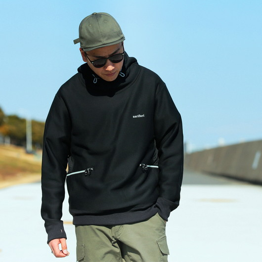 Easy care cycle pullover hoodie