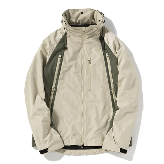 Wind through mountain parka
