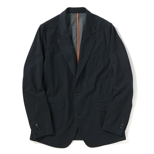 Durable N/C Plating jersey single tailored jacket