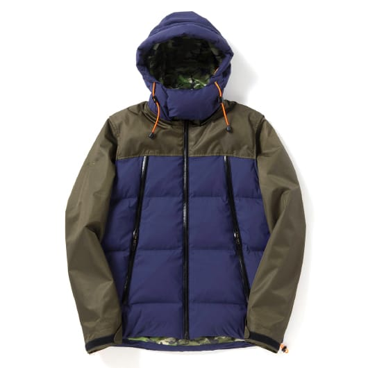 2 WAY cycle down jacket