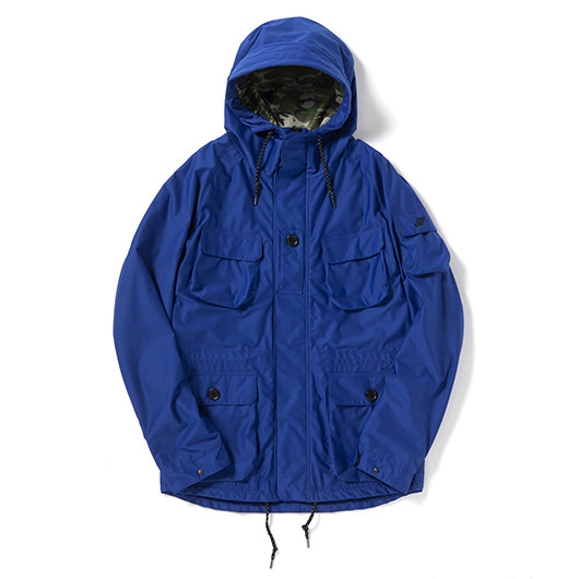 Wind break water repellent stretch rip stop NF smock