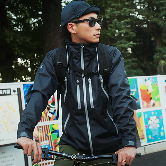 2 layer mountain parka