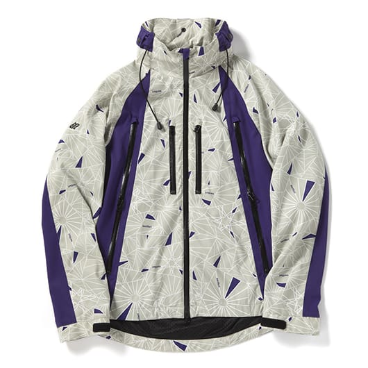 Dazzle camouflage mountain parka