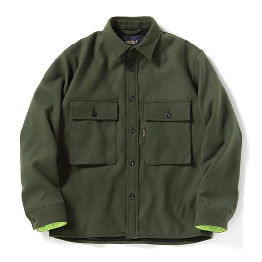 Military warm shirt blouson