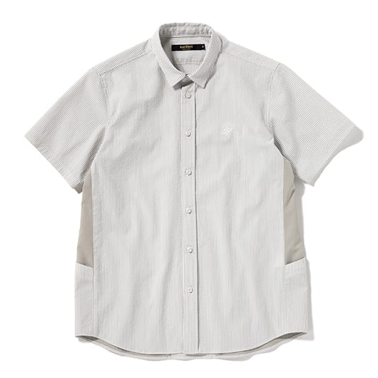 Ventilation short-sleeve shirt