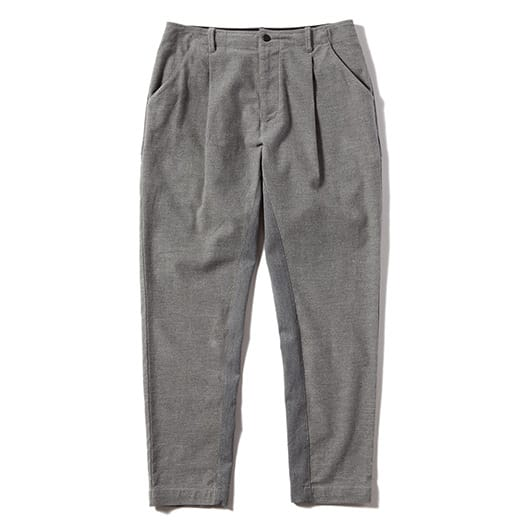 Moleskin one tuck pants