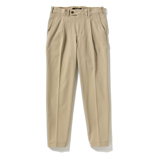 Stretch twill travel slacks