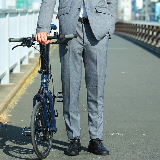 Wooly stretch ventilation slacks