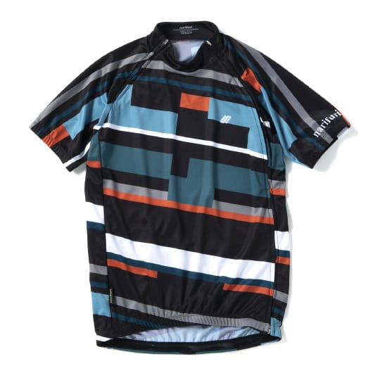 Cycle jersey Split  (geometric pattern)