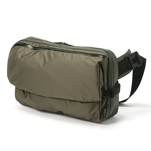 Helmet Hanger Messenger Bag