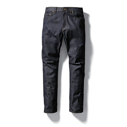 Dry denim long pants