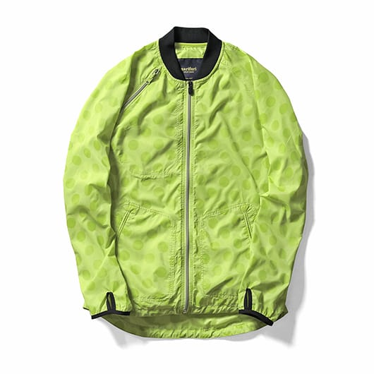 Shadow dot packable jacket