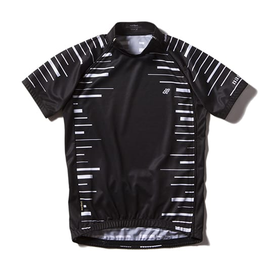 Cycle jersey Split SCALE STRIPE