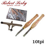 Robert Sorby 89HS10 ねじ切りキット 10tpi