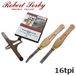 Robert Sorby 89HS16 ねじ切りキット 16tpi